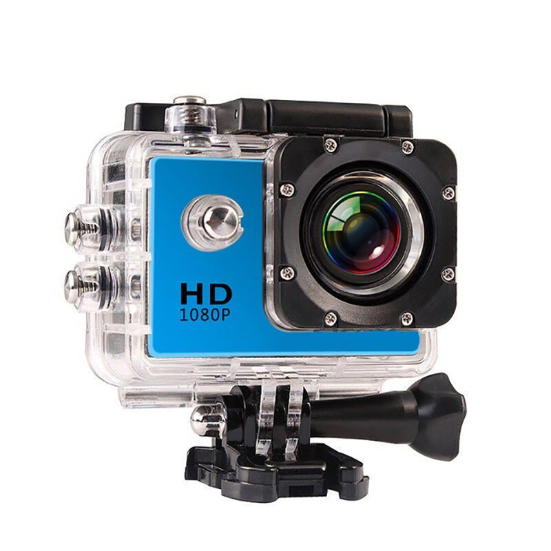 Mini Sport Waterproof Action Camera 1080P HD Gopro Style  with Screen Full Color