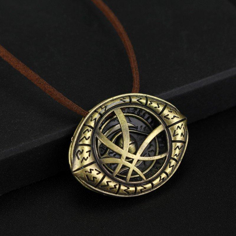 Doctor Strange Eye Necklace Avengers Vintage Style Statement Jewelry