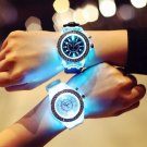 Luminous  Unisex Fashion Stylish Casual Eye-catching Quartz Wristwatch
