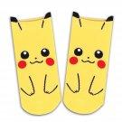 Anime Manga Pikachu Cartoon Pokemon Ankle Socks