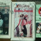 Set of 3 Annette Funicello VHS Monkeys Uncle Escapade Florence Mickey Mouse Club