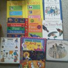 Set 10 Educational Book Alamo Dictionary How things work Science exper Reading
