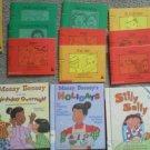 Set 16 Bob Beginning Reader Rookie Bessey Sally Liz Reading books Children Learn