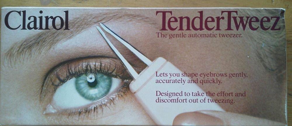 Tender Tweez Tweezers Clairol Gently Automatic Designed To Take