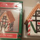Candy Cane Wishes House of Lloyd Around the World Colorful Village Hole top 1992