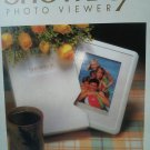 Showbox Photo Viewer Display Store Show White Picture Frame holds 40 Pictures