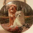 Wags to Riches Benji and Tiffany Collectible Plate Porcelain Joe Camps 2nd ed