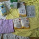 Lot of Medela Curad nursing pads Gerber cozy softshells Disposable Bonding Tube