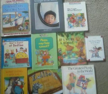 Set 10 Emotions BOOK Feelings Manners Learing to Cope with Disapointment Reading