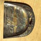 Nara Trading Co Niagara Falls Metal Plaque Souvenier Dust Bin Collectable Japan