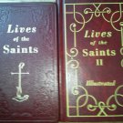 Set 2 Lives of the Saints II 1955 1995 Illustrated Books for every day of year