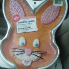 Wilton Bunny Rabbit Cookie Pan Sheet Giant Holds one package Refrigerator dough