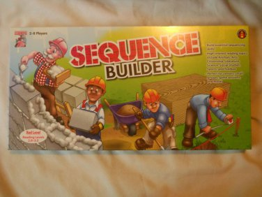 Sequence Builder Red Level 2.0-3.5 Reading topics Learning Well GAME Board NEW