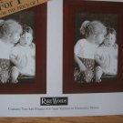 Set of 6 RARE WOODS 4 by 6 Picture Frames Symmetry Rosewood Single Photo Lot NEW