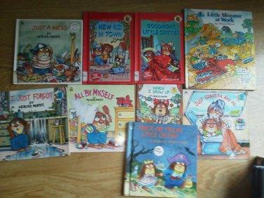 Set 10 book Mercer Mayer Little Critter Monster Mess Trick Treat Work forgot