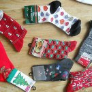 Set of 7 Ladies Christmas Ankle Socks Snowmen Candy Canes Presents Star Deer NEW