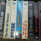Lot of 9  Movies VHS Classics Old Time Sunshine boys Posse Will Penny Desk Set