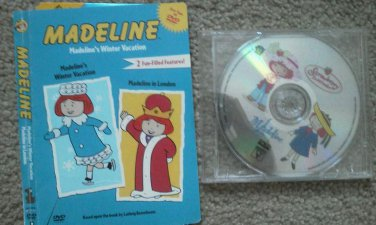 Set of 2 Strawberry Shortcake Madeline DVD Movies Shows Winter Vacation London