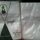 Vintage Springmaid pillowcase Set of 4 Light Pink Muslin SpringKnight Muslin New