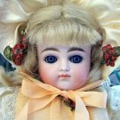 "19"" Lovely Closed Mouth Kestner ""H"" German Antique Bisque Doll"