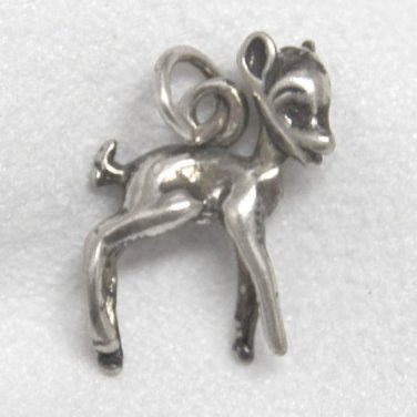 Sterling Silver Charm of a Deer
