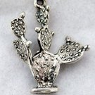 Sterling Silver Charm of a Cactus