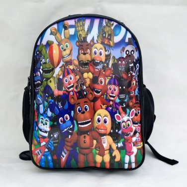 Five Nights at Freddy's BACKPACK FNAF New School Bag sports plush Bag #3