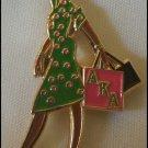 Alpha Kappa Alpha Sorority Diva Lady Lapel Pin