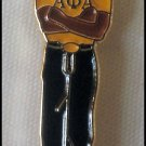 Alpha Phi Alpha Fraternity Stepper Lapel Pin.