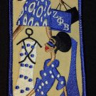 Zeta Phi Beta Sorority Diva Embroidered Luggage Tag