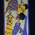 Sigma Gamma Rho Sorority Diva Embroidered Luggage Tag