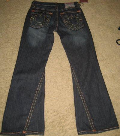 Men's True Religion Jeans SUPER T BILLY size 32x34