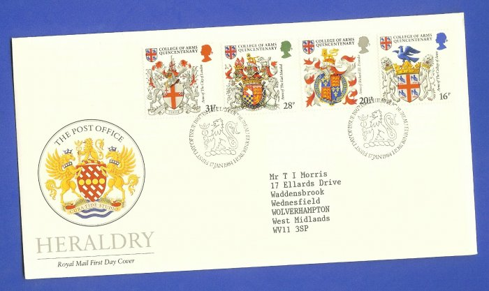 FDC UK Great Britain 17 Jan 1984