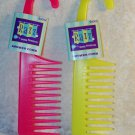 Shower Bath Hanging Detangling Hair Comb your choice of color Razz Collection