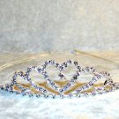 Heart Rhinestone Tiara Crown Headband Birthday Bridal Wedding Dress Up