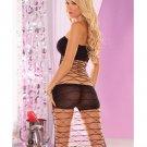 Pink Lipstick Platinum Club 3 pc Dress Set Tube Top Booy Short Dress 90-165lbs