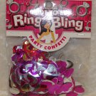 Wedding Bachelorette Bridal Shower Confetti Bride to Be Ring Bling FAST SHIPPING