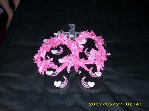 Adult flip flops sizes 7/8
