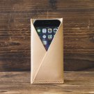 iPhone 6 Leather Case-Minimalist Wallet, iPhone6 Wallet, minimalist, minimal#Natural Nude