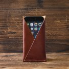 iPhone 6 Leather Case-Minimalist Wallet, iPhone6 Wallet, minimalist, minimal#Brown
