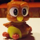 Kinder Surprise Collectible -Brown singing bird
