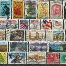 Collection of 30 USA stamps - 1883