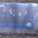 checklist - American football collectible card - 1991