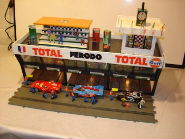 Three Level 6 car garage VIP level, control tower& grand stands
