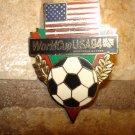 World cup soccer USA 1994 pin badge.