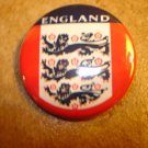 England Associacion  FC Football Soccer Club Official Metal Button Badge.