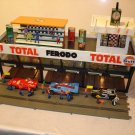 Three Level 6 car garage VIP level, control tower& grand stands 1/32 offered MTH