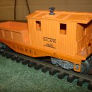 Lionel 611925 D.L.&W orange working caboose offered by MTH.
