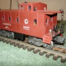 Lionel lighted caboose 6457 Tuscon offered by MTH.