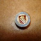 Vintage Manchester City F.C. button hole soccer pin badge.